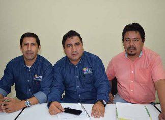 Octavio Escamilla, Pablo Valle, Víctor Sánchez.