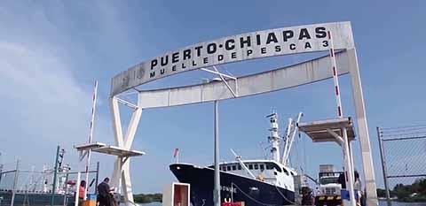 Sigue Estando Puerto Chiapas en el Último Lugar de Ingresos