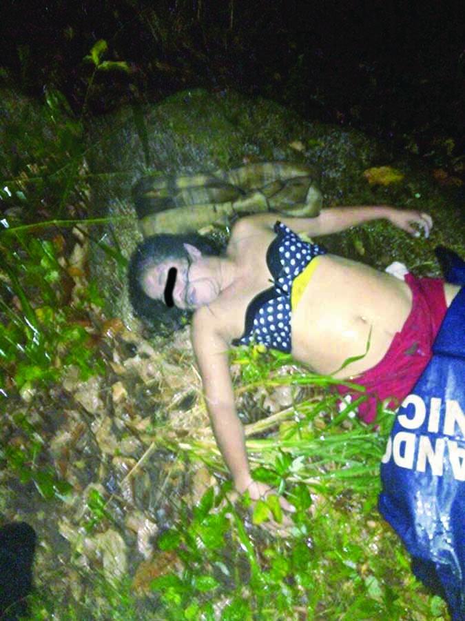 Murió Ahogada en el río Huixtla