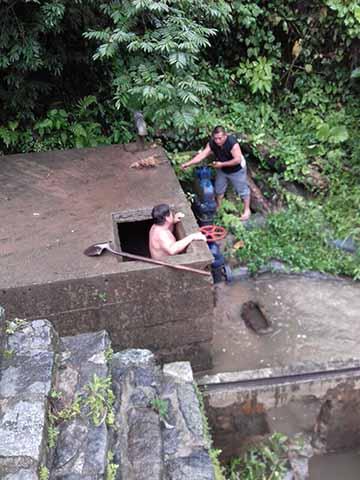 Restablecen Suministro de Agua Potable en Huixtla