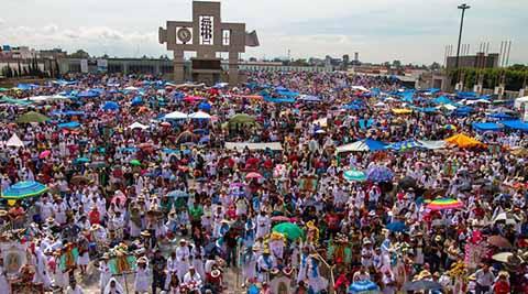 5 200 Millones de Perigrinos Visitan la Basílica de Guadalupe