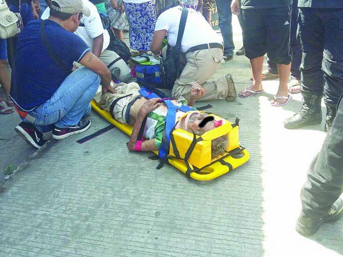 Abuelito fue Brutalmente Atropellado por un Cafre