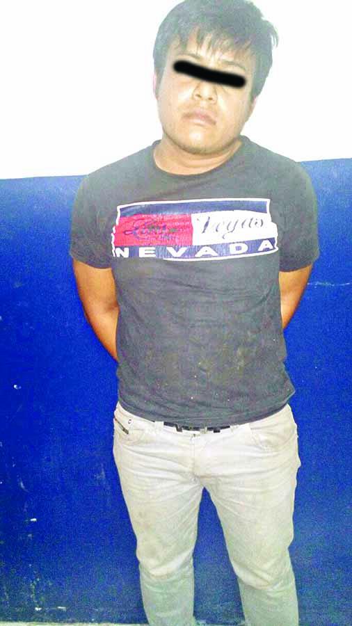 Asalta Taxistas Cayó en Poder de la Policía
