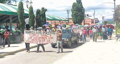 Realizan Marchas Simultáneas en Chiapas Contra Tarifas Eléctricas