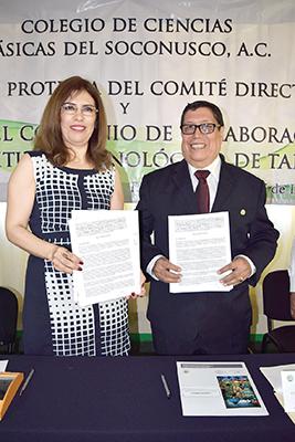 Aidé Domínguez, Fernando López.