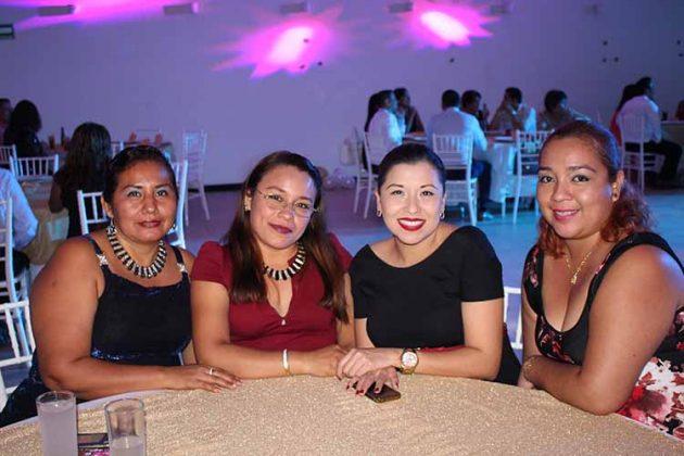 Lidia Aguiar, Brígida Jerónimo, Marijo López, Citlally Barrios.