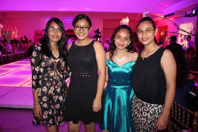 Sofía Díaz, Hannia Muñoz, Luz Chong, Fátima Maldonado