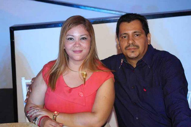 Carolina Robles, Carlos García.