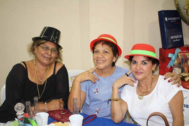 Juanita Trujillo, Eugenia Próspero, Andrea de Polito.
