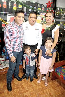 Familia Meléndrez Domínguez.