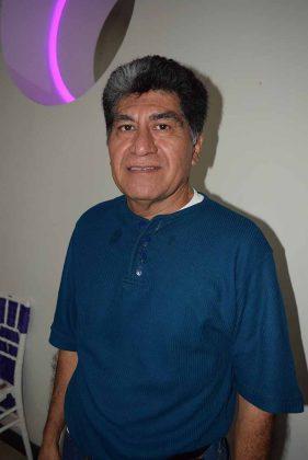 Olivio Santos, presidente del Club de Ajedrez Rey Blanco.