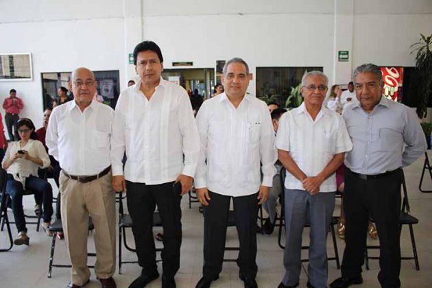 Francisco Guillén, José Luis Pinot, Alonso Culebro, Ramiro Ramírez, Abel Pérez. Magistrados.