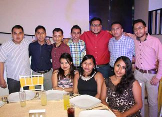 Toshio Raymundo, Federico Hernández, Heriberto, Laicel Moreno, Víctor Sánchez, Alejandra Villalobos, Rocío Cortés, Julia Muñoz, Alejandro Gálvez.