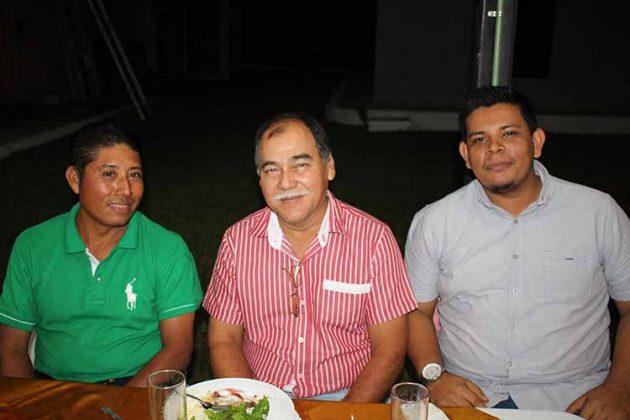 Luis Sánchez, Tito Albores, Javier Pérez.