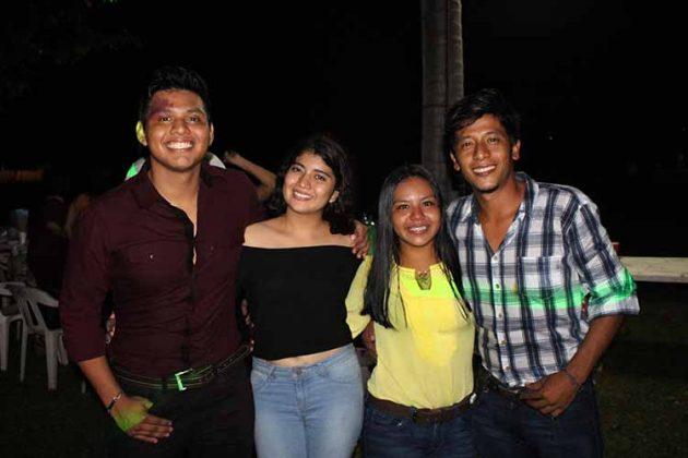 Alexander Carrillo, Ángela Ruiz, Jazmín del Castillo, Mauricio de la Rosa.