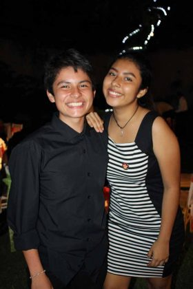 Diego Gallegos, Giselle Morales.