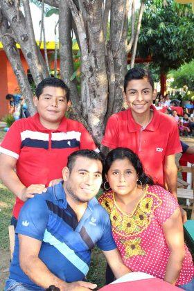 Familia Espinosa González.
