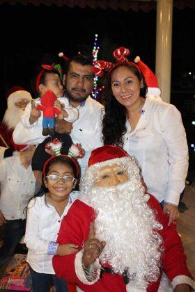 Familia Cruz Juárez.