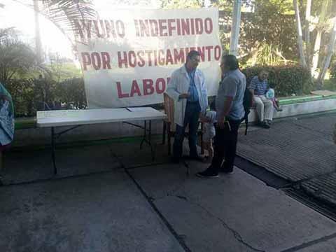 Hundido en el Abandono el Hospital de Huixtla