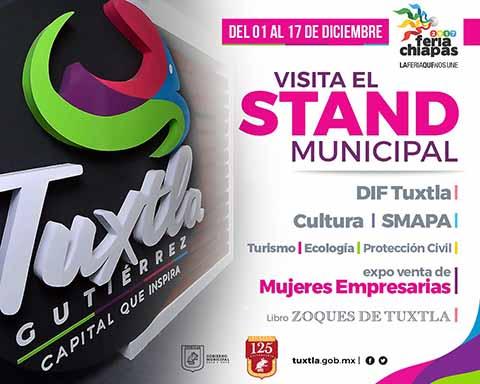 Invita Fernando Castellanos a la Feria Chiapas 2017