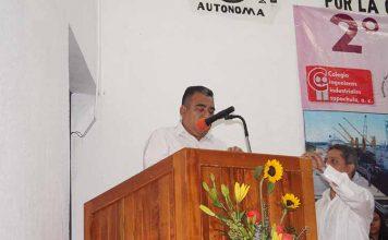 Isai García Trujillo inauguro el evento.
