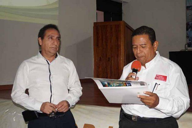 """Hugo D´amiano Molina, participo con la plática """"Proyecto de Biodiesel"""""""