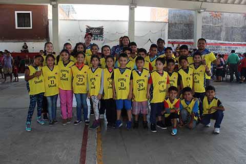 Equipos de Cacahoatán Participan en Copa Puebla 2017