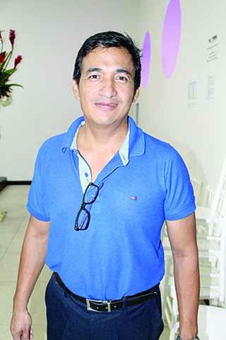 Rolando Ramírez Flores, árbitro estatal.