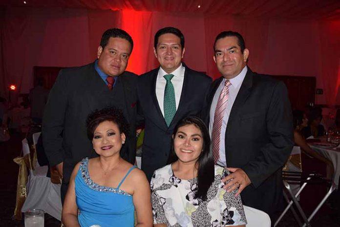 Juanita Chirino, José Romero, Enrique Zamora Morlet, Luis Salgado, Luisa Salgado.