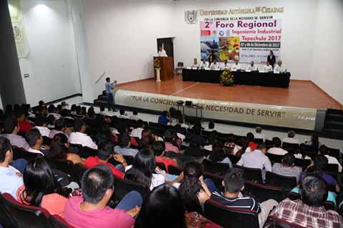 Arranca en Tapachula el 2º Foro Regional de Ingeniería Industrial