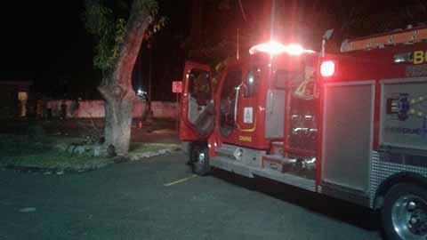 Connato de Incendio Movilizó a los Bomberos