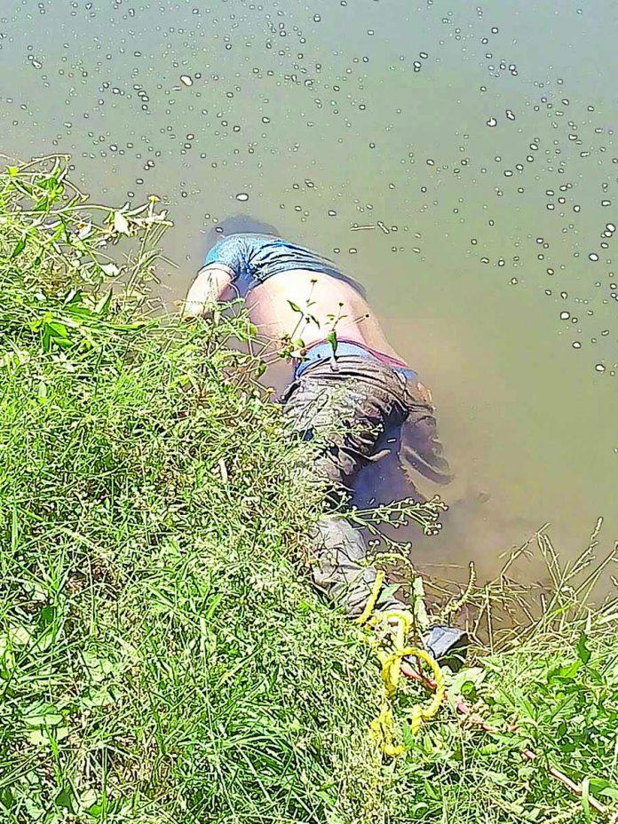 Lo Encontraron Muerto en un Canal de Riego