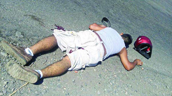 Motociclista Murió Atropellado por un Camión