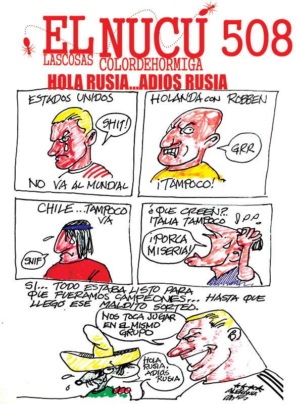 HOLA RUSIA... ADIÓS RUSIA