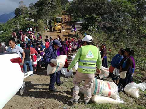 PC Intensifica Entrega de Alimentos a Familias de Chalchihuitán