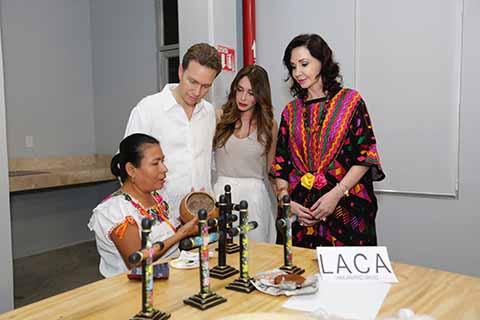 Inaugura Velasco la Casa de las Artesanías