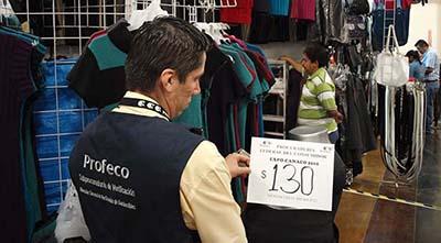 PROFECO Realiza Operativos en Comercios Para Evitar Abusos Contra los Consumidores