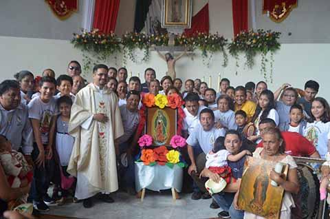 Concluyen Peregrinaciones a la Virgen en Tapachula