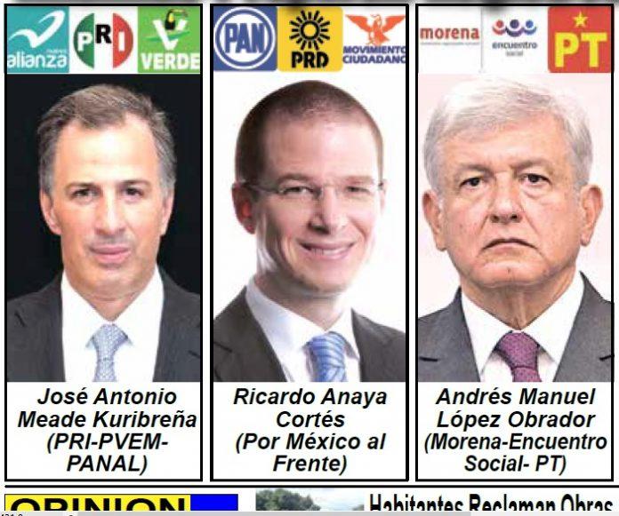 Se Conforman las Alianzas Políticas con Miras a la Elección Presidencial del 2018