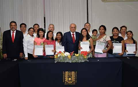 Benefician a Madres Estudiantes de la UNACH con Becas Otorgadas por el CONACYT