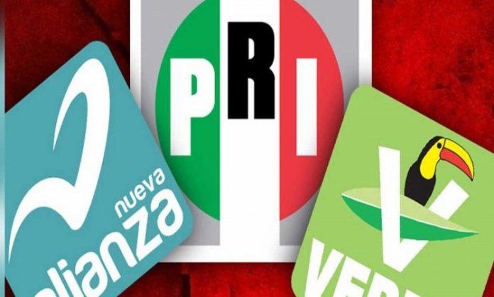 PRI-PVEM-PANAL Analiza Distribución de Gubernaturas, Diputaciones y Senadurías