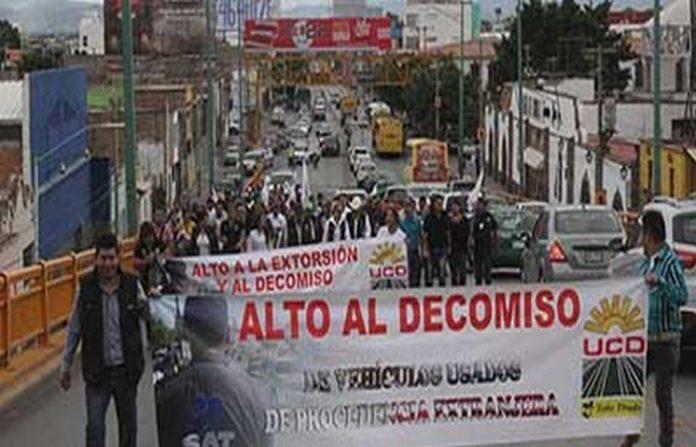 """Circulan en México de Manera Ilegal Seis Millones de Carros """"Chocolates"""""""