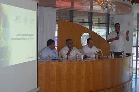 Llaman a Empresarios Sumarse al Proyecto de la Zona Económica Especial de Puerto Chiapas