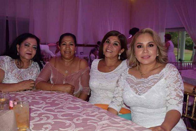 Ana Elia, Alejandrina, Rita Venegas, Leticia Venegas.