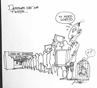 DESPUÉS DE LA FIESTA...