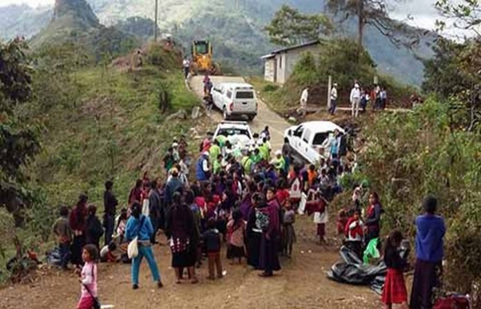 Juan Carlos Gómez Aranda, anunció que se reforzarán acciones preventivas de seguridad, de tal forma que las familias de Chalchihuitán se sientan sin temor.