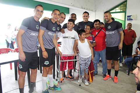 Cafetaleros Conviven con Aficionados Previo al Inicio del Torneo de Clausura