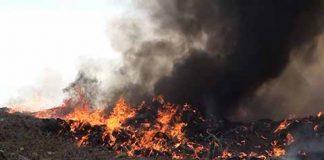Contaminación Ambiental Causa Incendio del Basurero Municipal