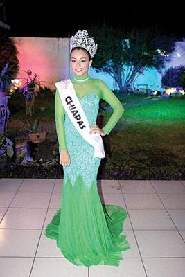 Gloria Rosas, Nuestra Belleza Juventud Chiapas 2018.