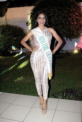Camila Morales, Miss Fire Chiapas 2017.